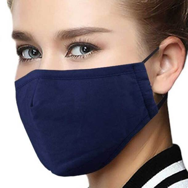 Reuseable Filter Mask - Plus one filter (Pack of 3)