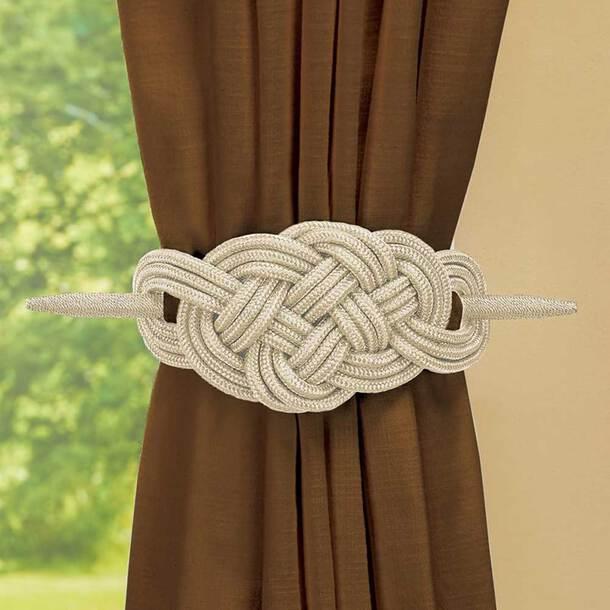 Curtain Tie Backs (Set of 2)