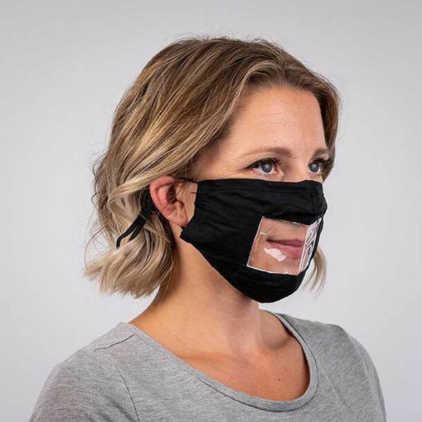Loud & Clear Reusable Face Mask