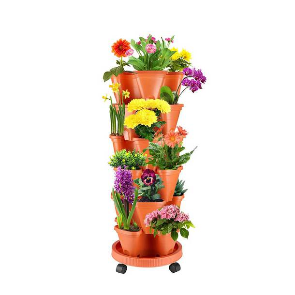 6-Tier Flower Tower