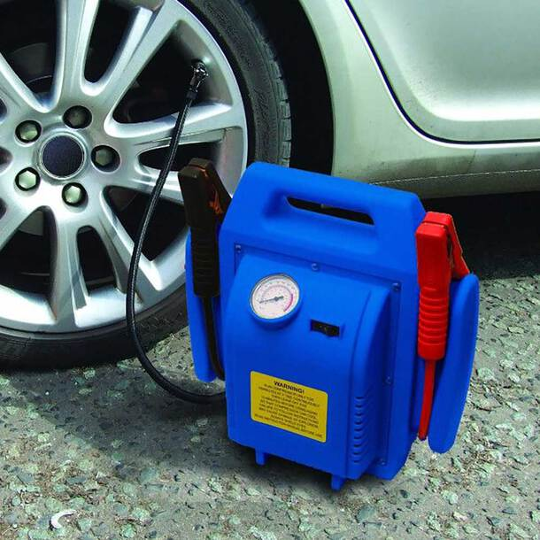 4-in1 Jump Starter and Air Compressor
