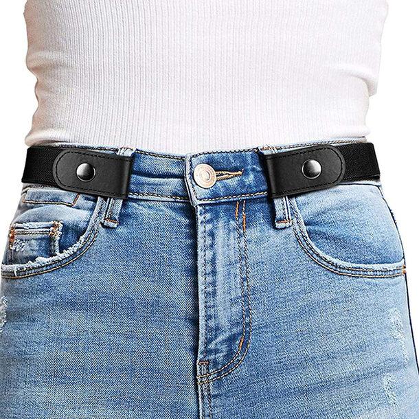 Buckle-Free Belts (Set of 3)