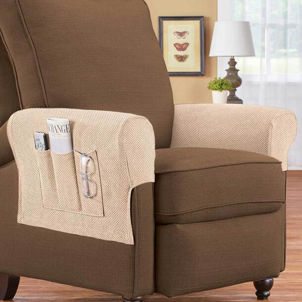 Stretch Armrest Covers with pockets