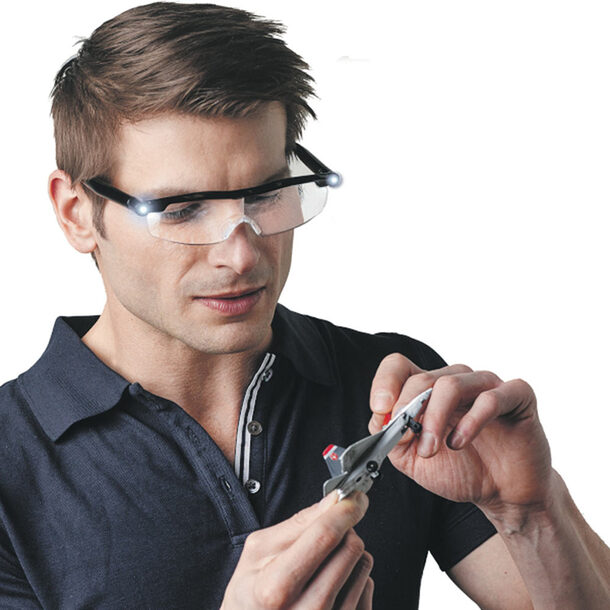 PowerZoom Max Magnifying Glasses +1 Pair Free