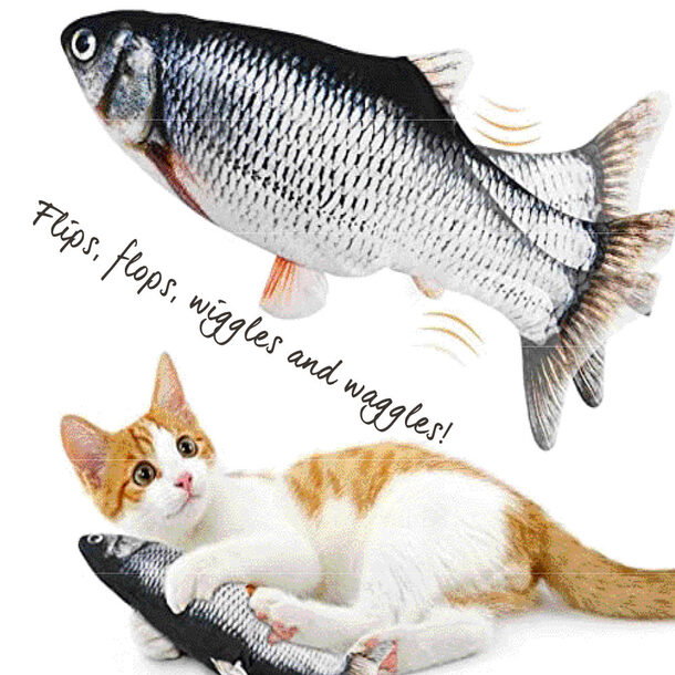 Flipping Cat Toy Fish