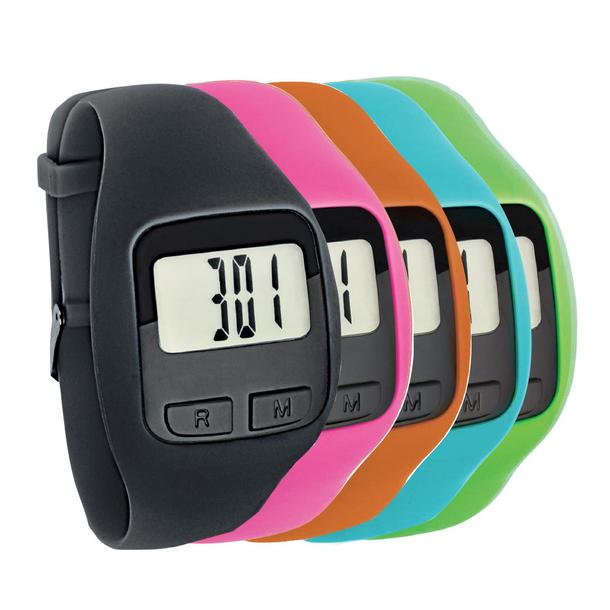Big Number Fitness Tracker