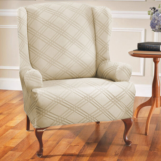 Stretch Wingchair Cover