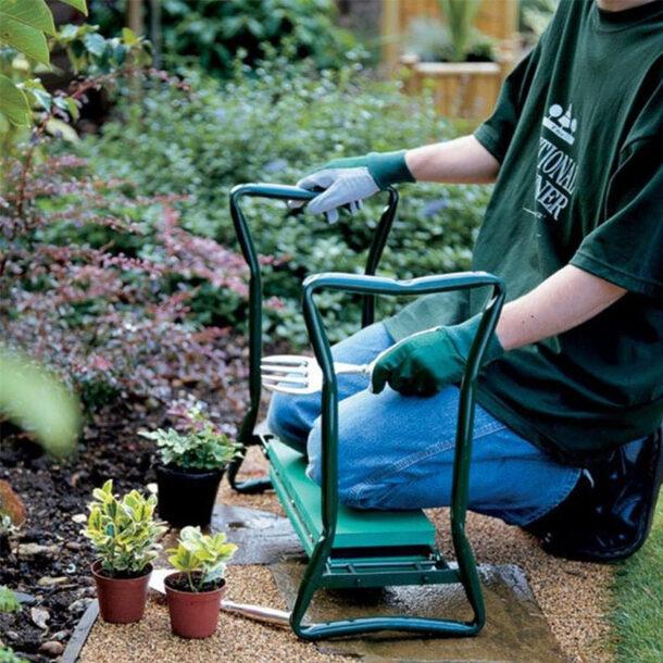 Comfy Garden Kneeler dark green