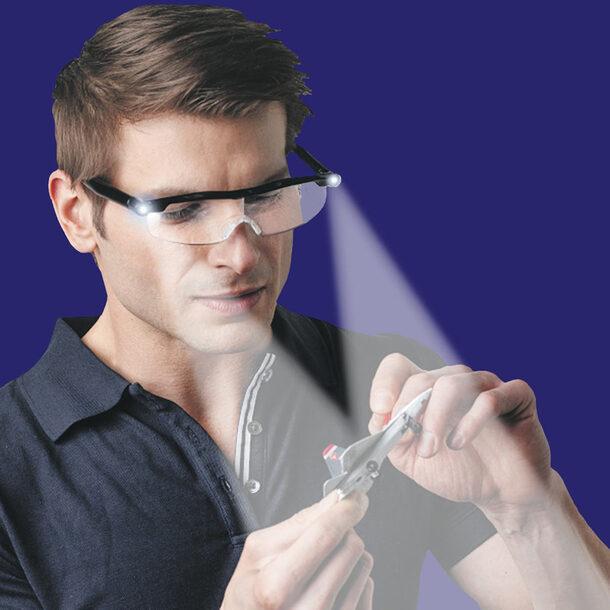 LED Magnifying Glasses +1 Pair FREE