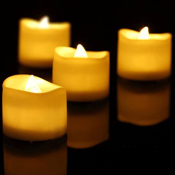 Glitter Flameless LED Candles