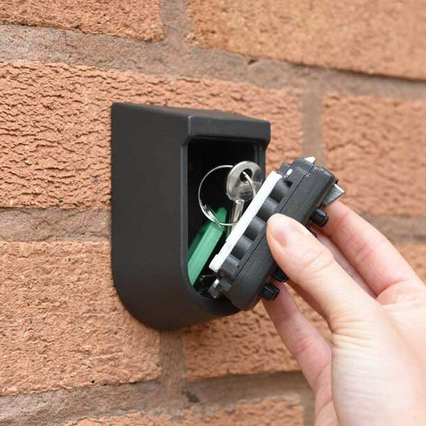 Outside Security Key Safe (black)