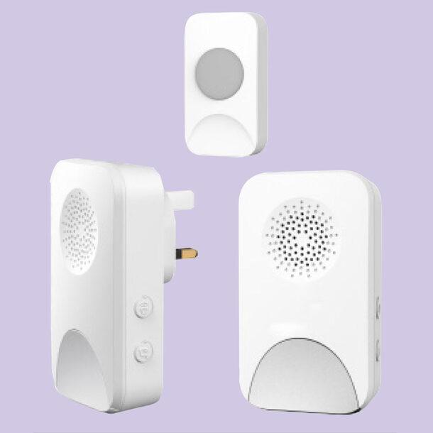 Cordless Portable Doorbell Set