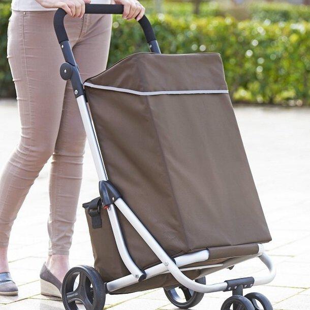 Lightweight Prestige 4-Wheel Shopping Trolley
