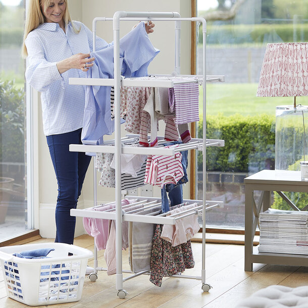 Easylife XL Heated Airer With Timer