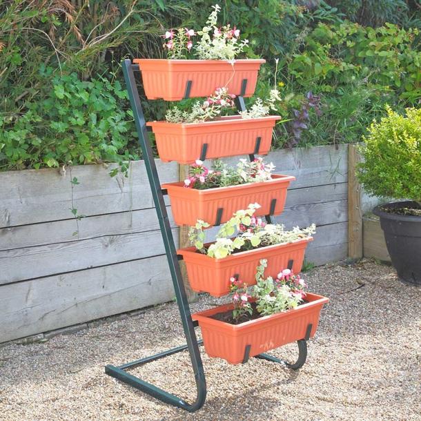 5-tier Planter Shelf