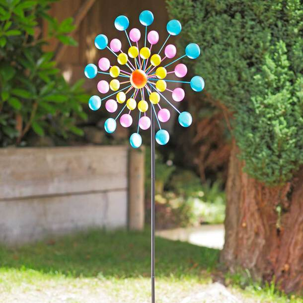 Colourful 3-tier Wind Spinner