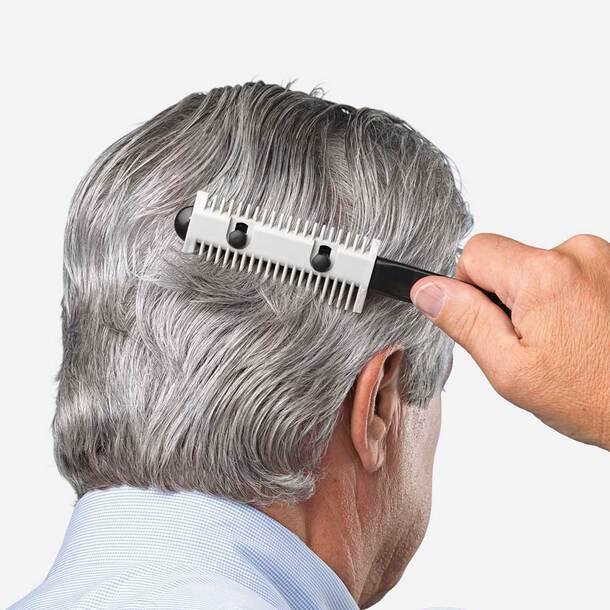 Hair Cutting Comb - Grey