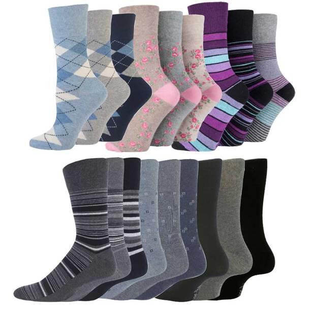 Gentle Grip Socks (set of 9)
