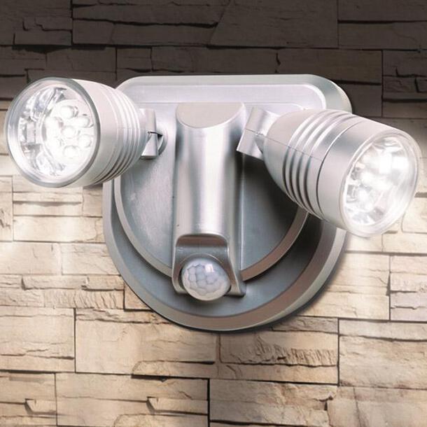 Wireless Twin Beam Security Light