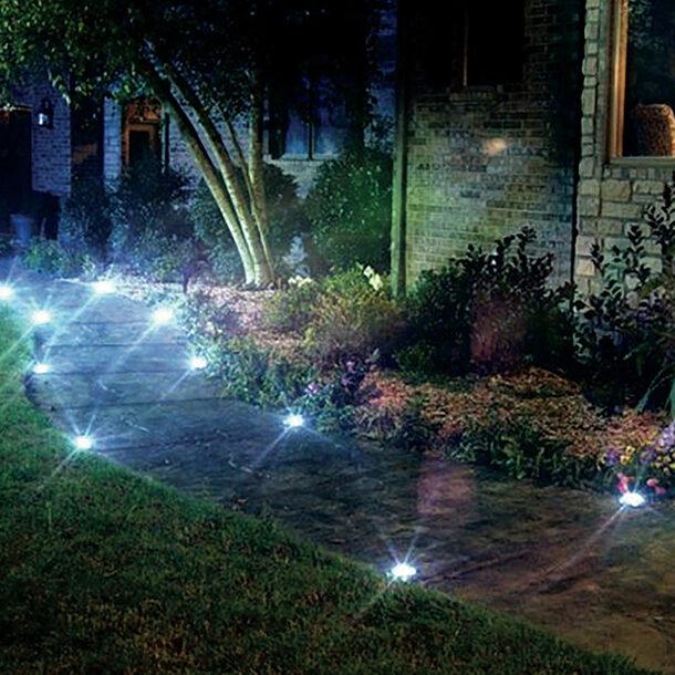 Solar Pathway Lights (Set of 4)