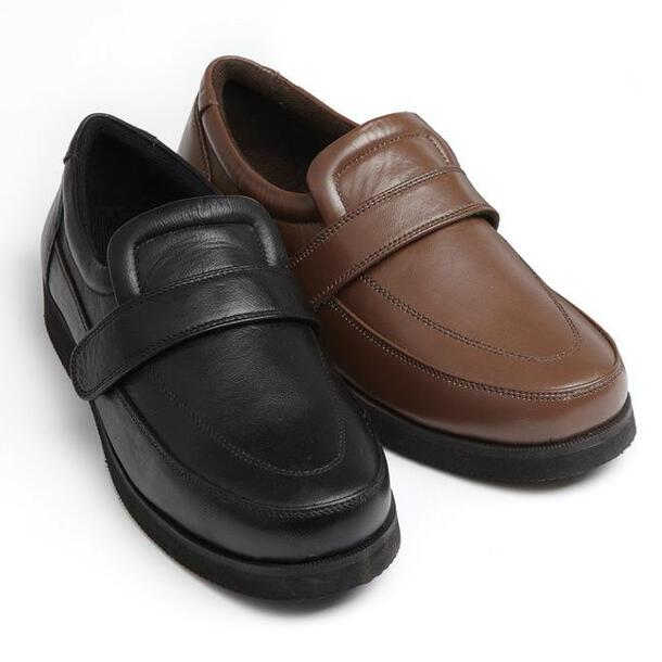 Leather Adjustable Comfort Shoes/Drifters (Pair)